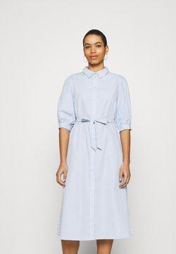 Moss Copenhagen - ZHEN NONA DRESS - Blusenkleid - blue