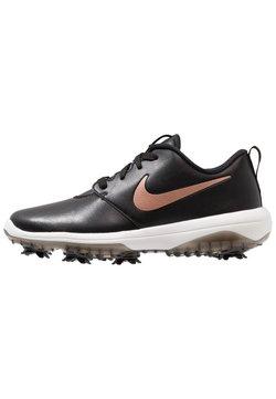 Nike Golf - ROSHE G TOUR - Golfkengät - black/metallic red bronze/summit white