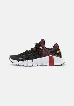 Nike Performance - FREE METCON 4 UNISEX - Chaussures d'entraînement et de fitness - black/dark cayenne-white/solar flare