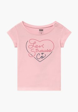 Levi's® - GRAPHIC TOP - T-shirt print - rose shadow