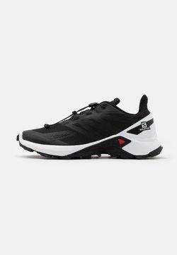Salomon - SUPERCROSS BLAST - Zapatillas de trail running - black/white