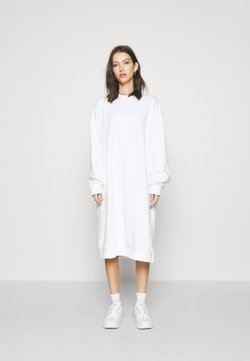 Weekday - PAYTON DRESS - Freizeitkleid - white