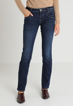 TOM TAILOR - ALEXA - Jeans Straight Leg - dark stone denim blue