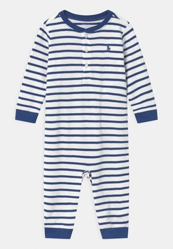 Polo Ralph Lauren - STRIPE ONE PIECE - Combinaison - blue