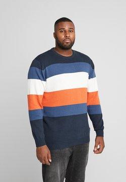 Jack´s Sportswear - STRIPED ONECK - Pullover - navy