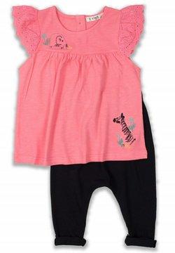 Cigit - T-SHIRT AND LEGGING SET - Legging - neon pink