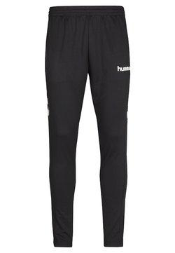 Hummel - CORE FOOTBALL PANT - Verryttelyhousut - black