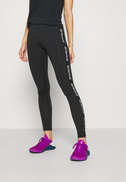 ONLY Play - ONPADREY TRAINING - Tights - black/white
