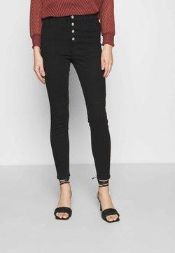 ONLY - ONLSTARLA LIFE JEWEL  - Jeans Skinny - black