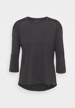 Patagonia - SLEEVE BIKE - Pitkähihainen paita - black