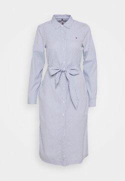 Tommy Hilfiger - ALEXIS SHIRT DRESS - Skjortekjole - breezy blue