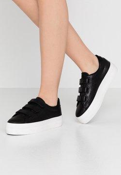 No Name - PLATO STRAPS - Sneakers laag - black/fox white