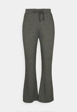 Even&Odd - Flared leg joggers - Jogginghose - mottled dark grey