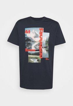 Jack Wolfskin - LAKE MORNING  - T-shirt print - night blue