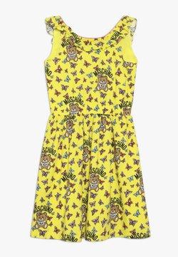 MOSCHINO - DRESS - Freizeitkleid - yellow