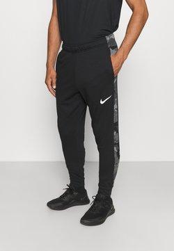 Nike Performance - CAMO - Jogginghose - black/white
