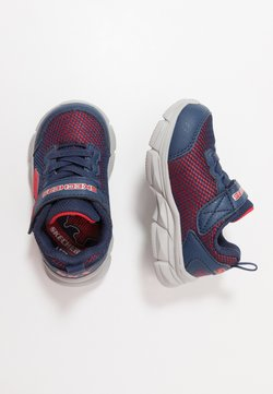 Skechers - ADVANCE - Sneakers laag - navy/red textile