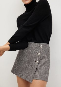 Mango - Shorts - grau