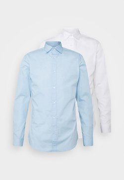 Jack & Jones - JJJOE 2 PACK - Camisa - cashmere blue/white