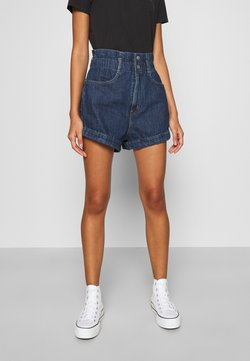 Levi's® - HR PAPERBAG SHORT - Denim shorts - fused