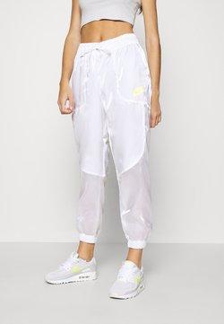 Nike Sportswear - Jogginghose - white/volt