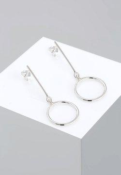 Elli - MINIMAL BASIC 925 STERLING SILBER  - Ohrringe - silver-coloured