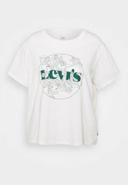 Levi's® Plus - VARSITY TEE - T-shirt med print - sugar swizzle