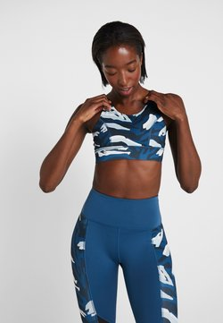 Wolf & Whistle - ABSTRACT CUT OUT BACK BRA - Sport BH - blue