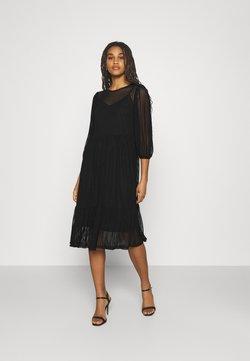 Vero Moda - VMGAIA 3/4 SLEEVE DRESS  - Cocktail dress / Party dress - black
