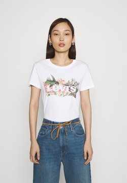 Levi's® - THE PERFECT TEE - T-Shirt print - white