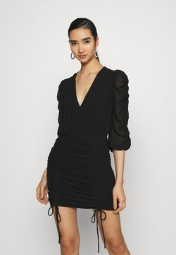 Gina Tricot - MICHELLE DRESS - Cocktailkleid/festliches Kleid - black