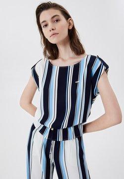 LIU JO - T-Shirt print - stripes blue