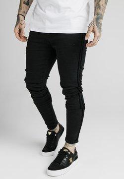 SIKSILK - Slim fit -farkut - black