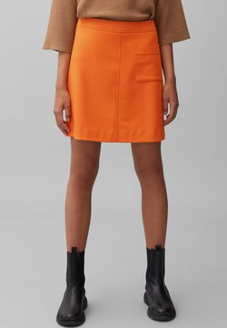 Marc O'Polo - EASY SHAPE - A-Linien-Rock - pumpkin orange