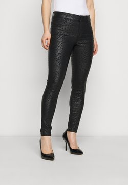 Dorothy Perkins Petite - ANIMAL FRANKIE - Jeans Skinny Fit - black