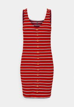 ONLY Petite - ONLNELLA BODYCON DRESS - Freizeitkleid - high risk red/cloud dancer/night sky