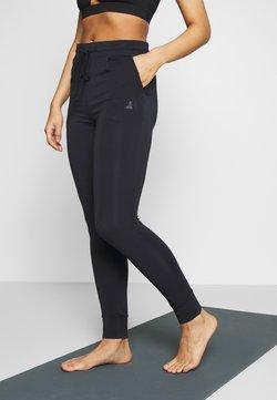 Curare Yogawear - LONG PANTS - Medias - midnight blue