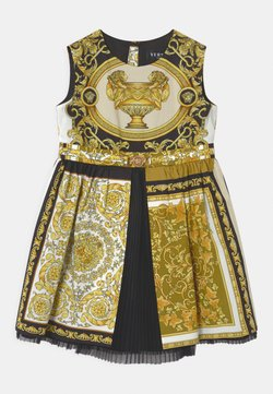 Versace - BAROQUE MOSAIC - Cocktailkleid/festliches Kleid - white/gold/black