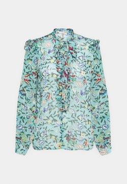 Esqualo - BLOUSE FLOWER GARDEN  - Bluse - green