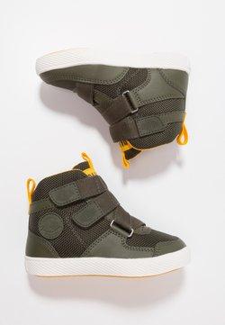 Palladium - PALLASTREET MID - Sneakers hoog - olive night/gold