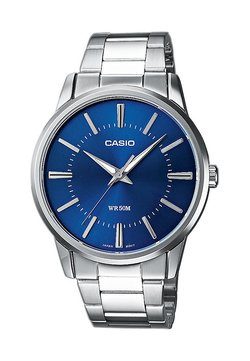 Casio - Montre - silberfarben/blau