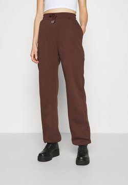 Nly by Nelly - PERFECT SLOUCHY PANTS - Træningsbukser - brown