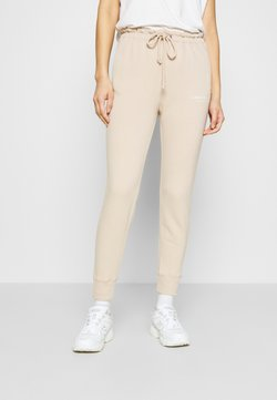 Abercrombie & Fitch - TREND LOGO WAISTED  - Jogginghose - beige