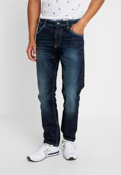 TOM TAILOR - TRAD - Jeans Relaxed Fit - dark stone wash denim blue
