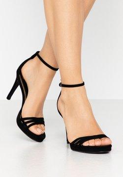 Buffalo - MELISSA - Sandalen met hoge hak - black