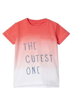 Name it - T-shirt print - calypso coral
