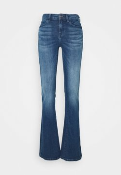 Noisy May Tall - NMMARLI - Jeans a zampa - medium blue denim