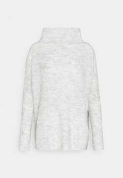 ONLY - ONLMIRNA ROLLNECK - Jersey de punto - light grey melange