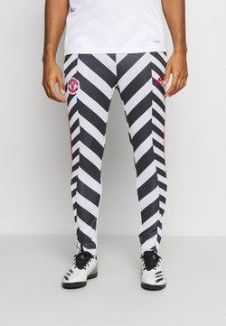 adidas Performance - MANCHESTER UNITED  - Pantalones deportivos - white/black
