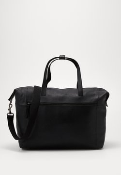 Zign - UNISEX LEATHER - Weekender - black